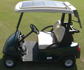 Club Car Golf Cart Solar Tops
