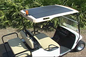 Peel And Stick Solar Golf Cart Tops